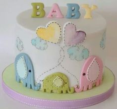 cute cake for a baptism, christening or naming ceremony. Follow us for more planning inspiration or contact us at www.tidesevents.co.uk for help planning your party.