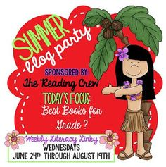 Best Books for 6th Grade: A Summer Blog Party and FREEBIE