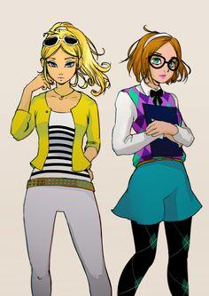 chloe and sabrina