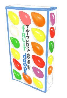 幼い頃、不二家のフルーツドロップは、とてもお世話になっていました。ちなみにドロップとキャンディの違いは分かりますか?記事の中に答えがあります。 Showa Period, Japanese Sweet, Japanese Snacks, Cheer Me Up, Retro Aesthetic, Time Capsule, Fashion Books, Food Design, Good Old