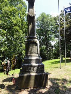 Patrick Cleburne memorial at Helena, Arkansas