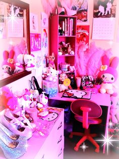 My room PINK EVERYTHING