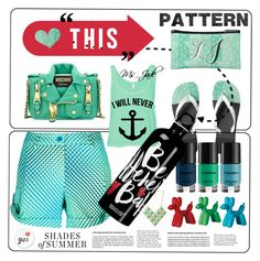 """""""Mint Mint Everywhere and so Many Prints to Make"""" by ms-jade-1 ❤ liked on Polyvore featuring Dot & Bo, P.A.R.O.S.H., Napoleon Perdis, Moschino, Forever 21, Anja, school, college, summerstyle and ms_jade"""