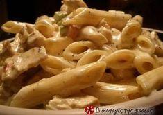 Πέννες αλ πόλο Pasta Recipies, Chicken Recipes, Penne, Easy Healthy Recipes, Vegetarian Recipes, Cookbook Recipes, Cooking Recipes, Everyday Food, Greek Recipes