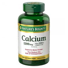 Nature's Bounty Calcium Plus Vitamin D