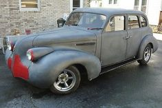 Buick Sedan, Vintage Cars, Antique Cars, Old Cars, Cadillac, Hot Rods, Classic Cars, Restoration, Trucks