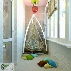 Spatiul de relaxare amenajat in balconul apartamentului tau din Isaran Residence. www.isaran.ro
