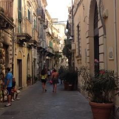 Palermo. Old and easy to recognise. Palermo streets have a special taste. Not much has been changed after the war years.