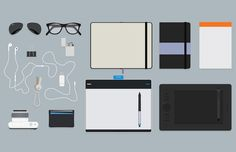 Medialoot - Flat Hero Header Kit - Designer Essentials