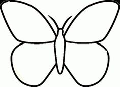 Butterfly Coloring Page For Kids 2