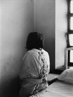 Alfred Eisenstaedt. Patient in Mental Hospital Wearing a Restraining Garment.