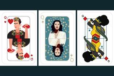 Deck Of 'Woman Card' Cards