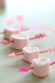 DIY Valentines Tutorial for Bow and Arrow Heart #valentine #love
