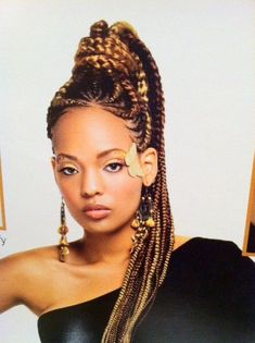 African Braid Hair styles. african goddess braids | BIKE African ...