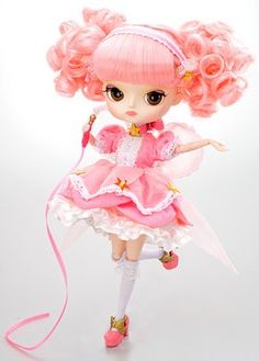 Pullip - Dal Magical Pink Chan- I HAVE THIS ONE! (except I renamed her Pinky Pie.
