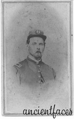 Jasper Sprague Snow, Civil War photo Snow family photo