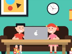 Kids/Mom/Spy - Character animation by Fede Cook  for Motion Authors