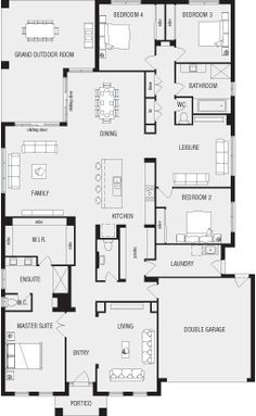 Lincoln New Home Floor Plans Interactive House Plans Metricon Homes Queensland