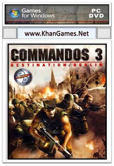 Commandos 3 Destination Berlin Game File Size: 1.81 GB System Requirements Operating System: Windows Xp,7,Vista,8 CPU: Intel Pentium III 700 MHz Ram: 128 MB Video Memory: 32 MB Hard Disk Space: 2 GB