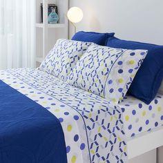 Sábanas Drop Hierba Monesal - Donurmy.es Diy Bedroom Decor, Diy Home Decor, Bed Cover Design, Bedroom Comforter Sets, Designer Bed Sheets, Elegant Curtains, Bed Sheet Sets, Bed Covers, Bed Spreads