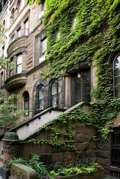 Upper Eastside Brownstone, New York City  by Martin Palmer