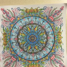 54 Best Lost Ocean Page 32 Fish Anchor Mandala Images On Pinterest