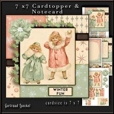 Cardtopper winter fun 671 on Craftsuprint - View Now!