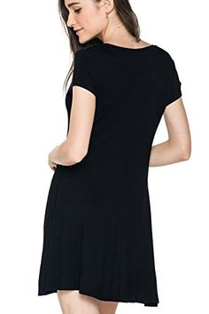 Glostory Women's Short Sleeve Casual T-Shirt Summer Dress 2657