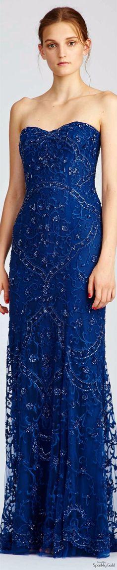 Fashion Show 2017 Monique Lhuillier 63 Ideas For 2019 Women's Dresses, Event Dresses, Blue Dresses, Couture Dresses, Wedding Dresses, Monique Lhuillier, Blue Fashion, Fashion Show, Color Fashion