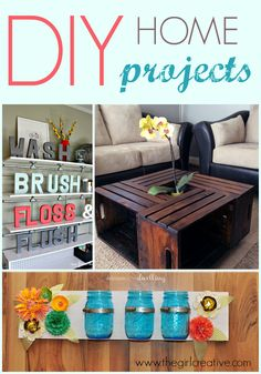DIY Home Projects #sundaybestlinkpartfeatures