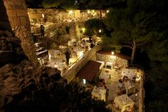 Club Gibo, Italian Coast above the Riccardo Caffe in the town of Ostuni, Puglia Italy.