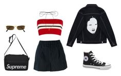 """""""Consideration"""" by fvshionmami ❤ liked on Polyvore featuring Chicnova Fashion, Etienne Deroeux, Lilou, Erika Cavallini Semi-Couture, Moschino and Victoria's Secret"""