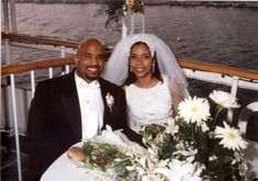 This happy couple is enjoying their gourmet catered meal on their wedding day. Boat Wedding, Yacht Wedding, Wedding Reception, Wedding Day, Newport Beach, Charter Boat, Meal, Weddings, Couples