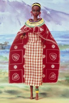 Kenyan Barbie® Doll | The Barbie Collection-1994