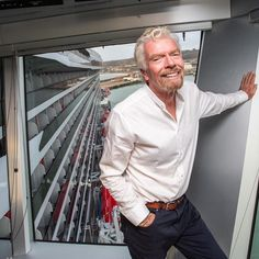 "Richard Branson on Instagram: ""Thrilled to show off @VirginVoyages' first cruise ship Scarlet Lady to the world for the first time. I've wanted to launch a cruise line…"" Richard Branson, Scarlet, The One, First Time, Cruise, Product Launch, Ship, Lady, Instagram"