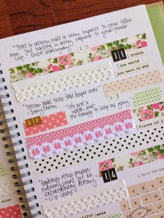 Hello! Tessa  here with another smash book/art journal page featuring Love My Tapes. I love a good quote and I thought it would be fun to di...