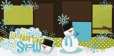A Wonderland Of Snow Page Kit