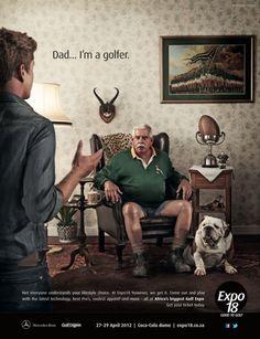 Expo18, Good to Golf Ad.  Brilliant ad!!