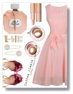 Coffee break by simona-altobelli on Polyvore featuring polyvore fashion style Miu Miu Martha Stewart vintage clothing Pink MyStyle coffee