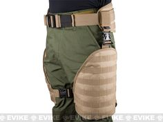 Matrix Tactical Systems MOLLE Lumbar Belt & Leg Protection System w/ Thigh Rig (Black), Matrix (Tactical Gear) - Evike.com Airsoft Superstore