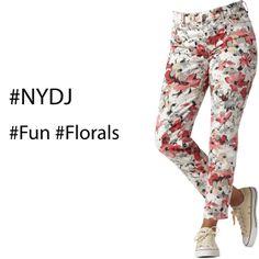 FLORALS  #NYDJ  #Fun #Florals