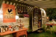 Airstream turned coffee vendor.