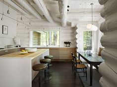 See This Woodsy Cabin Transformed Into a Chic, Rustic Residence: The Daily Details: Blog