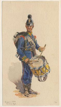 Bavaria; 14th Infantry Regiment, Drummer, 1870