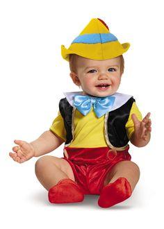 Disney Baby Boys' Pinocchio Infant Costume months Disney halloween makeup for baby boy - Halloween Makeup Original Halloween Costumes, Cute Baby Halloween Costumes, Baby Boy Halloween, Toddler Costumes, Boy Costumes, Disney Halloween, Halloween Makeup, Infant Halloween, Costume Ideas