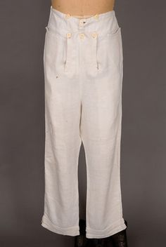 Reduzca Pantalones Otoño frente, Estados Unidos, 1800-1825 -