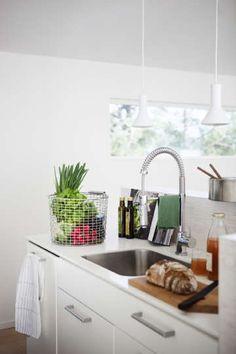 Sisustus - keittiö - moderni, hillitty tyyli