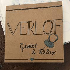#handlettering #verlof #zwangerschapsverlof #postcard