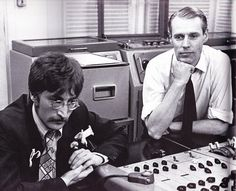 John Lennon & Sir George Martin