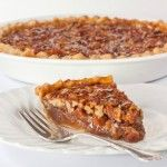 Perfect Pecan Pie, substitute silan for corn syrup and half sugar